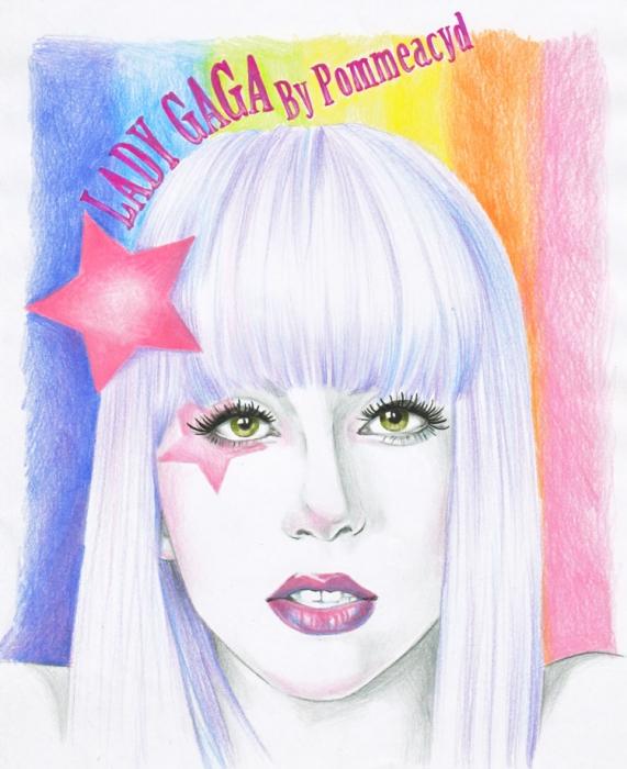 Lady Gaga by Pommeacyd